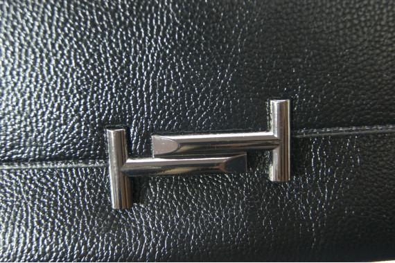 Женский клатч Kuqi 8588black черный