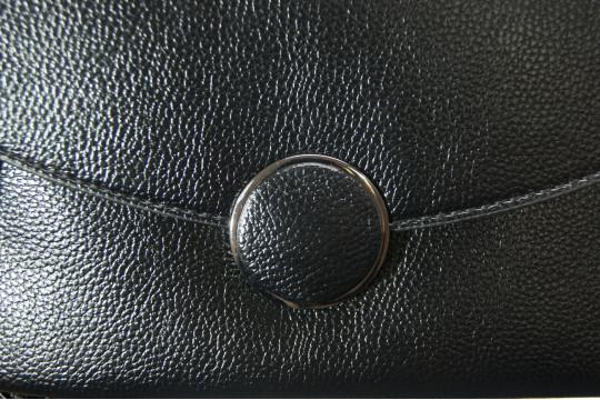 Женский клатч Kuqi 8688black черный