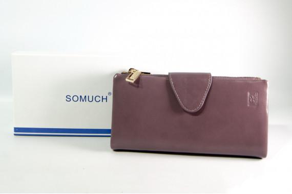 Женский клатч Somuch 355-1AX сиреневый