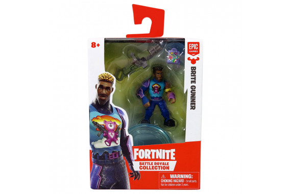 Набор фигурок Fortnite Battle Royale Collection (Brite Gunner) 5см