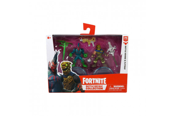 Набор фигурок Fortnite Battle Royale Collection (Battle Hound, Flyptrap) 5см
