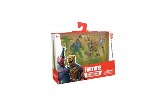 Набор фигурок Fortnite Battle Royale Collection (Battle Hound, Flyptrap) 5см