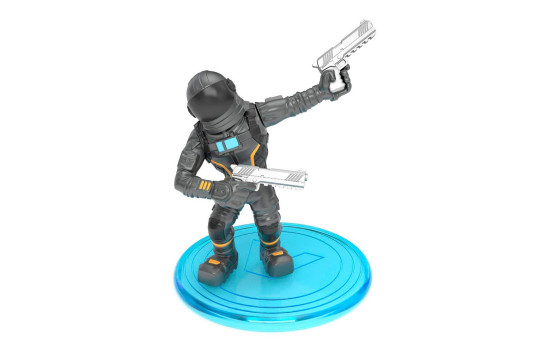 Набор фигурок Fortnite Battle Royale Collection (Mission Specialist, Dark Voyager) 5см