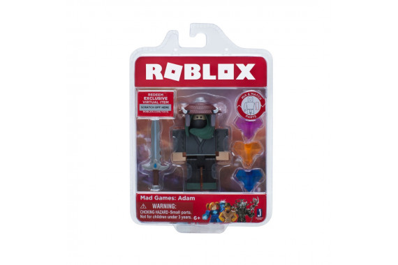 "Фигурка Roblox ""Mad Games: Adam"" (Jazwares)"