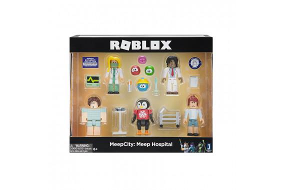 """Набор из 5 фигурок Roblox """"Meepcity: Meep Hospital"""" (Jazwares)"""