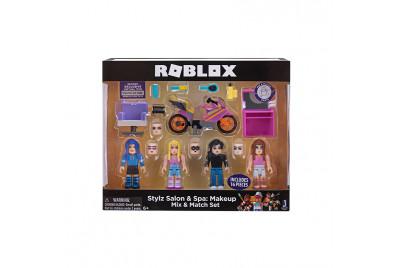 """Набор из 4 фигурок Roblox """"Stylz Salon Spa: Makeup"""" (Jazwares)"""