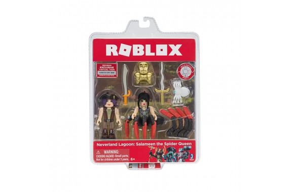 "Набор из 2 фигурок Roblox ""Neverland Lagoon: Salameen the Spider Queen"" (Jazwares)"
