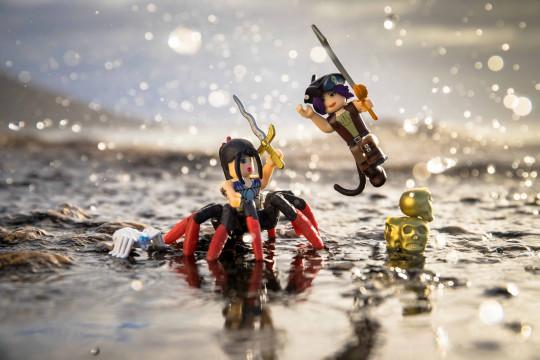 "Набор из 2 фигурок Roblox ""Neverland Lagoon: Salameen the Spider Queen"" (Jazwares)"