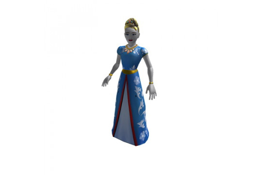 "Набор из 4 фигурок Roblox ""Build a Billionaire Heiress"" (Jazwares)"