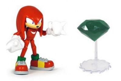 Фигурка Соник - Sonic Knuckles with Master Emerald 9 см