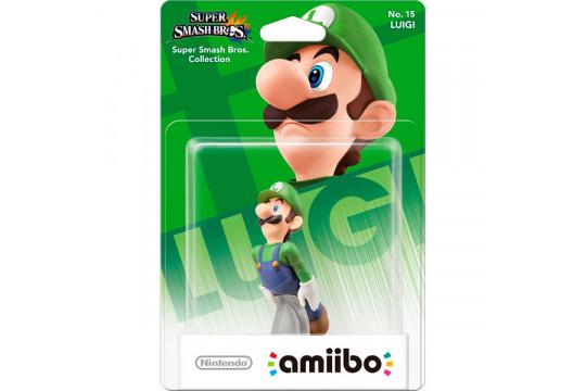 "Фигурка Amiibo ""Луиджи"" 9см (коллекция Super Smash Bros. с NFC чипом)"