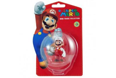 Фигурка Super Mario series3: Fire Mario  (6 см)