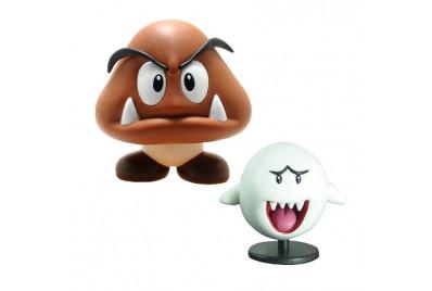 Фигурка Super Mario series4: Goomba Gumba и Boo Huu (6см)