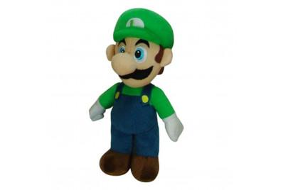 Плюш игрушка Super Mario: Luigi (30см)