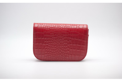 Женская сумка на пояс Lingge 7104489 red