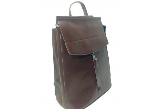 Женская сумка-рюкзак 2в1 Seniora Onlyvista W137coffee