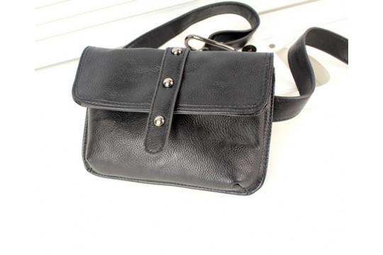 Женская сумка на пояс Lingge 7104493 black