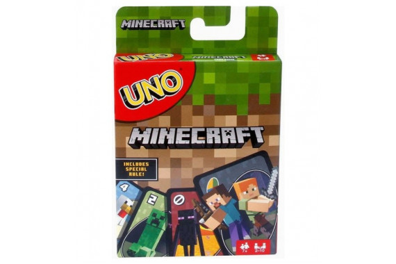 Настольная игра УНО Майнкрафт (UNO Minecraft)