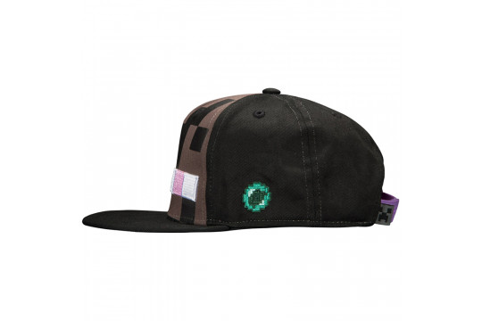 "Бейсболка  Майнкрафт ""Эндермен"" Enderman Mob Hat (черная)"