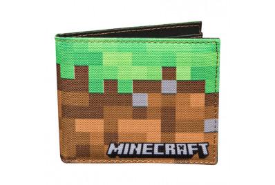 "Кошелек ""Блок земли""  Майнкрафт  Dirt Block Bi-Fold Wallet"