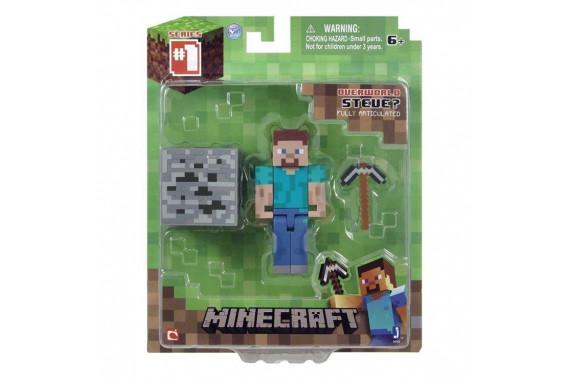"""Фигурка """"Стив с Киркой"""" Minecraft (Jazwares)"""