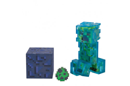 """Фигурка Minecraft """"Заряженный крипер"""" (Jazwares)"""