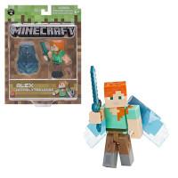 "Фигурка Minecraft ""Алекс с крыльями"" Alex with Elytra Wings (Jazwares)"