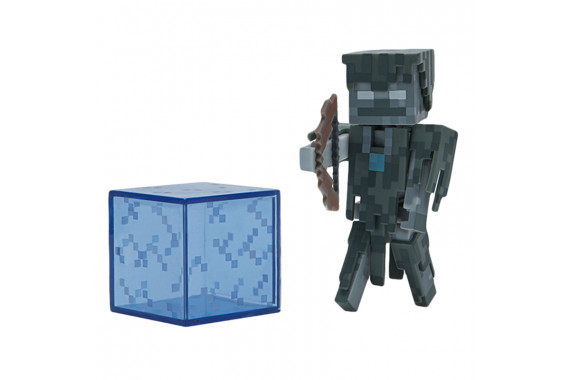 "Фигурка ""Зимогор"" Stray Minecraft (Jazwares)"