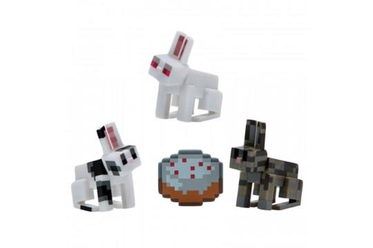 "Фигурка Minecraft ""Кролики"" Bunnies (Jazwares)"