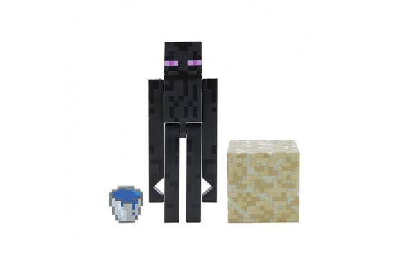 "Фигурка Minecraft ""Атакующий Странник Края"" Attacking Enderman (Jazwares)"