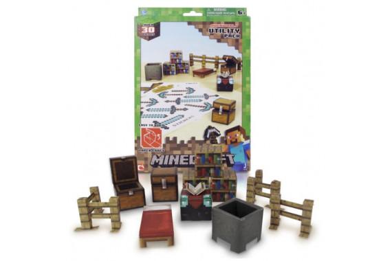 "Бумажный конструктор Minecraft Паперкрафт 16702 ""Предметы"""