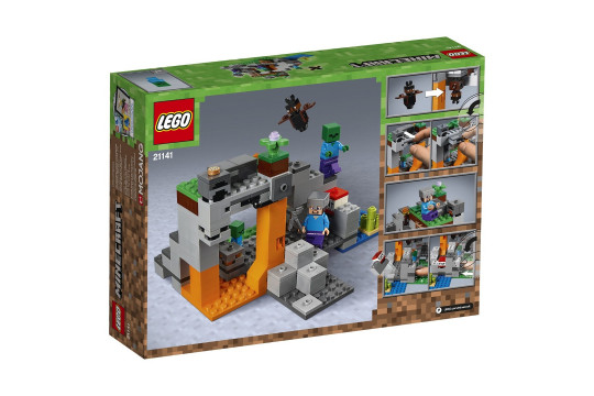 """[LEGO] Конструктор LEGO Minecraft 21141 """"Пещера зомби"""""""