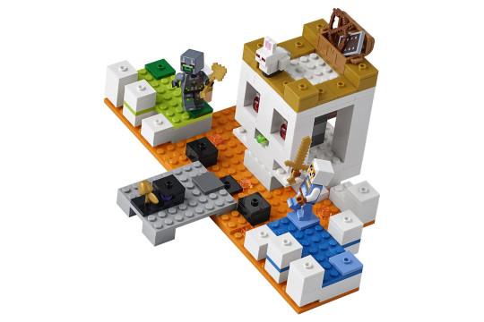 "[LEGO] Конструктор LEGO Minecraft 21145 ""Арена-череп"""