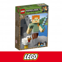 "[LEGO] Конструктор LEGO Minecraft 21149 ""Алекс с цыплёнком"""