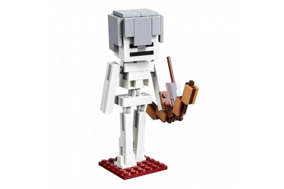 """[LEGO] Конструктор LEGO Minecraft 21150 """"Скелет с кубом магмы"""""""