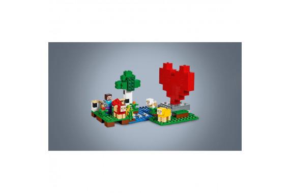 "[LEGO] Конструктор LEGO Minecraft 21153 ""Шерстяная ферма"""