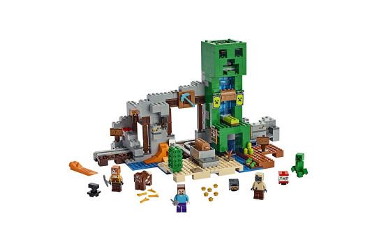"[LEGO] Конструктор LEGO Minecraft 21155 ""Шахта крипера"""