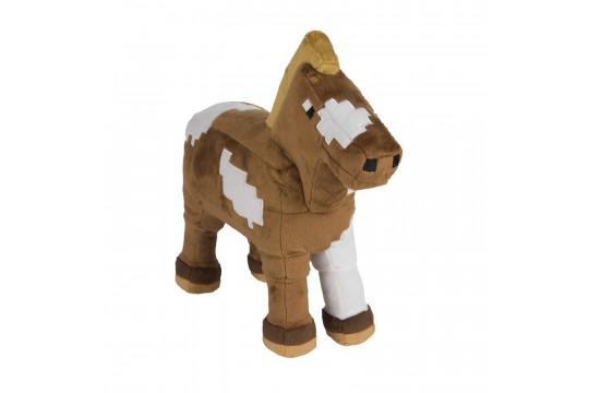 """Большая плюшевая игрушка  Майнкрафт """"Лошадь"""" Horse 34 см"""