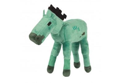 Плюшевая игрушка Майнкрафт Zombie Foal Лошадь-зомби 18см