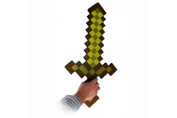 Золотой меч из Майнкрафт