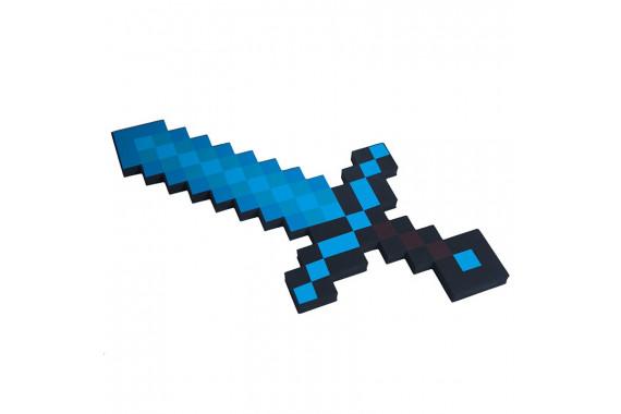 """Пиксельный """"Алмазный меч"""" Майнкрафт 45 см"""