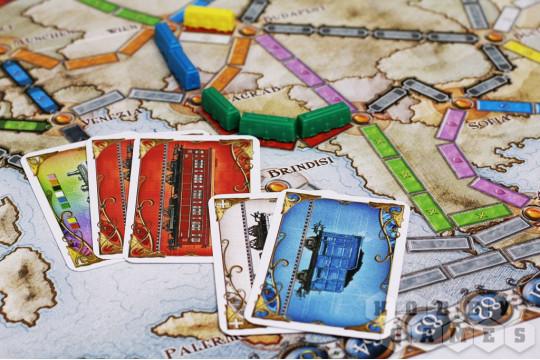 Настольная игра Ticket to Ride «Европа»
