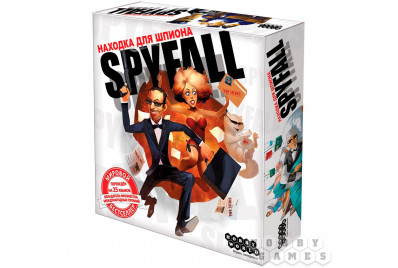 "Настольная игра Spyfall ""Находка для шпиона"""