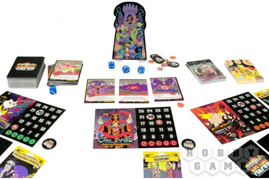 Настольная игра «Эпичные схватки боевых магов: Бесчинство в замке Спрутобойни»
