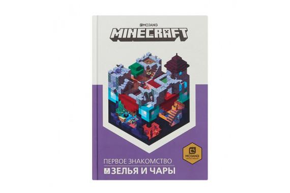 """Книга """"Зелья и чары. Первое знакомство"""". Minecraft"""