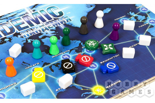 Настольная игра Pandemic «Пандемия»