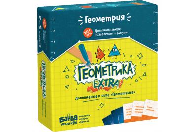 Настольная игра «Геометрика EXTRA»