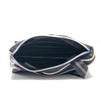 Женская сумка Zipit tote bag (черная с радужной молнией)